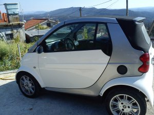 Smart City Cabrio 2001, Automática, 4,6 litres